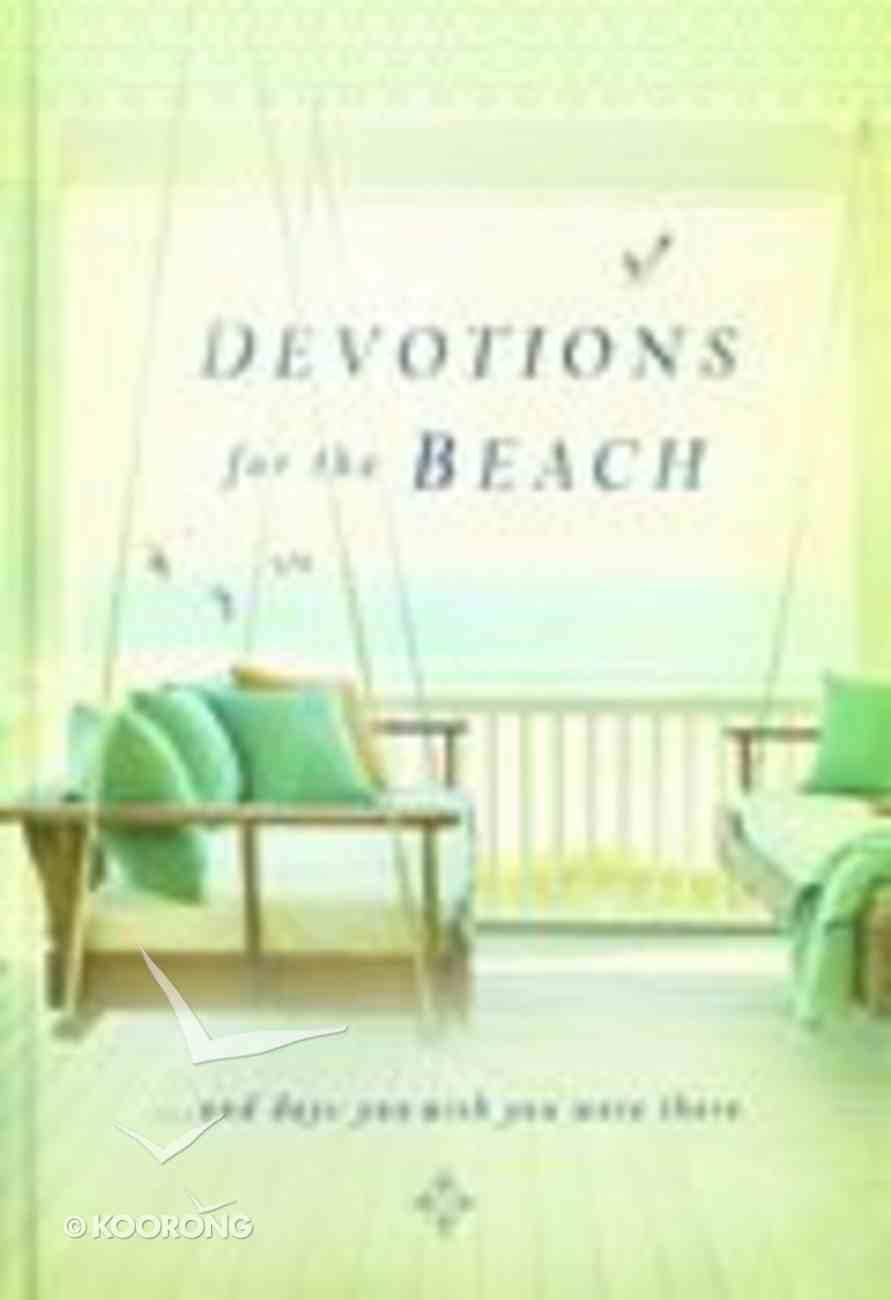 Devotions For the Beach Hardback