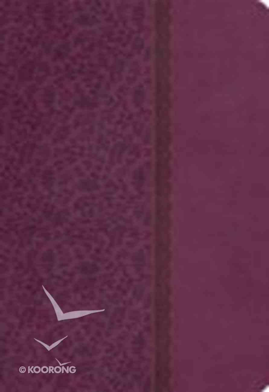 KJV Compact Ultraslim Bible Plum Imitation Leather
