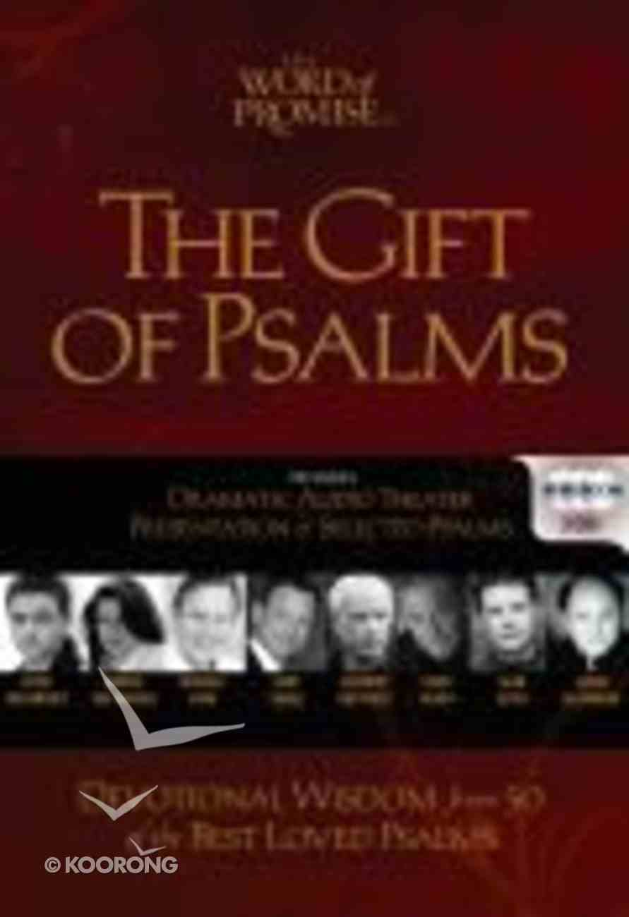 NKJV Word of Promise Gift of Psalms (Cd + Book) CD