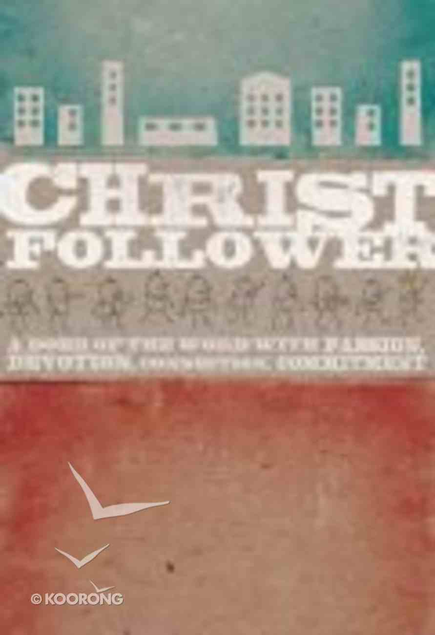 Christ Follower (Dvd Based Study) Pack