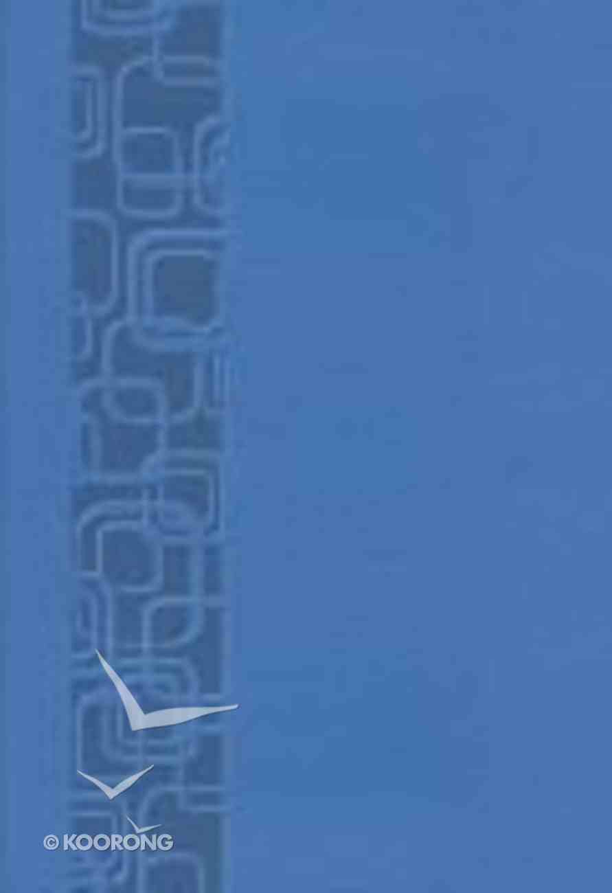 NKJV Compact Ultraslim Bible Cornflower Blue Geometric Premium Imitation Leather