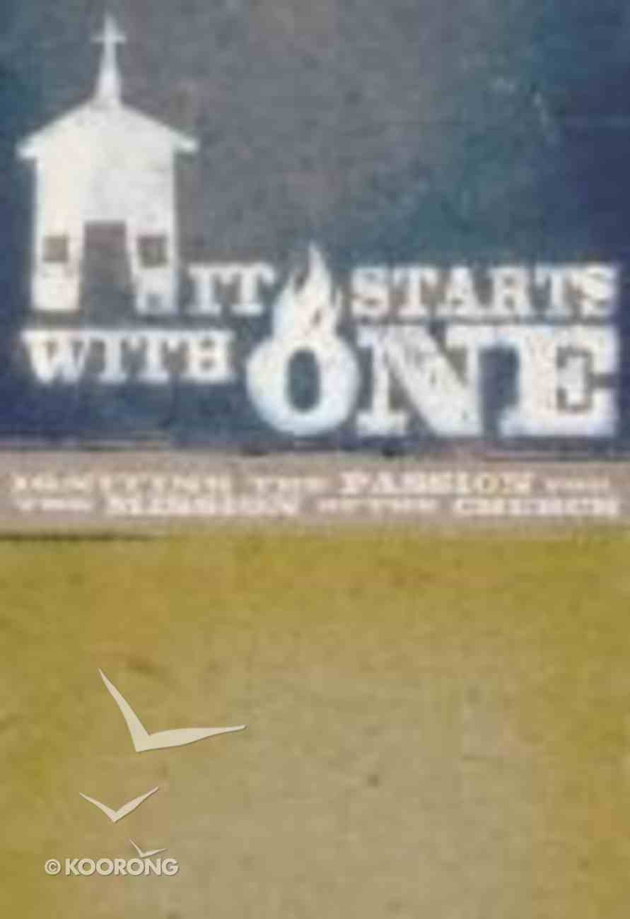 It Starts With One (Dvd) Pack