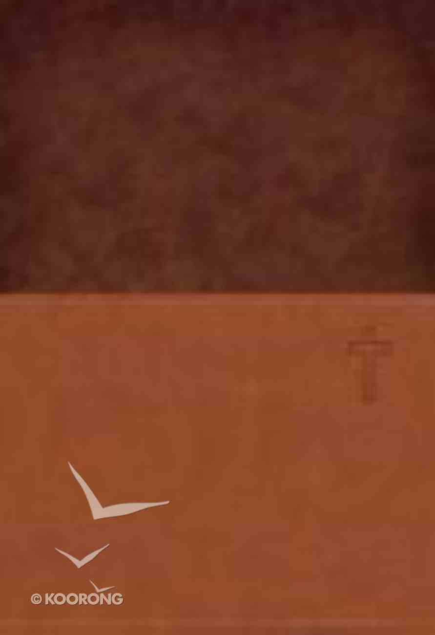NKJV Prophecy Study Iced Tea/Chocolate Imitation Leather