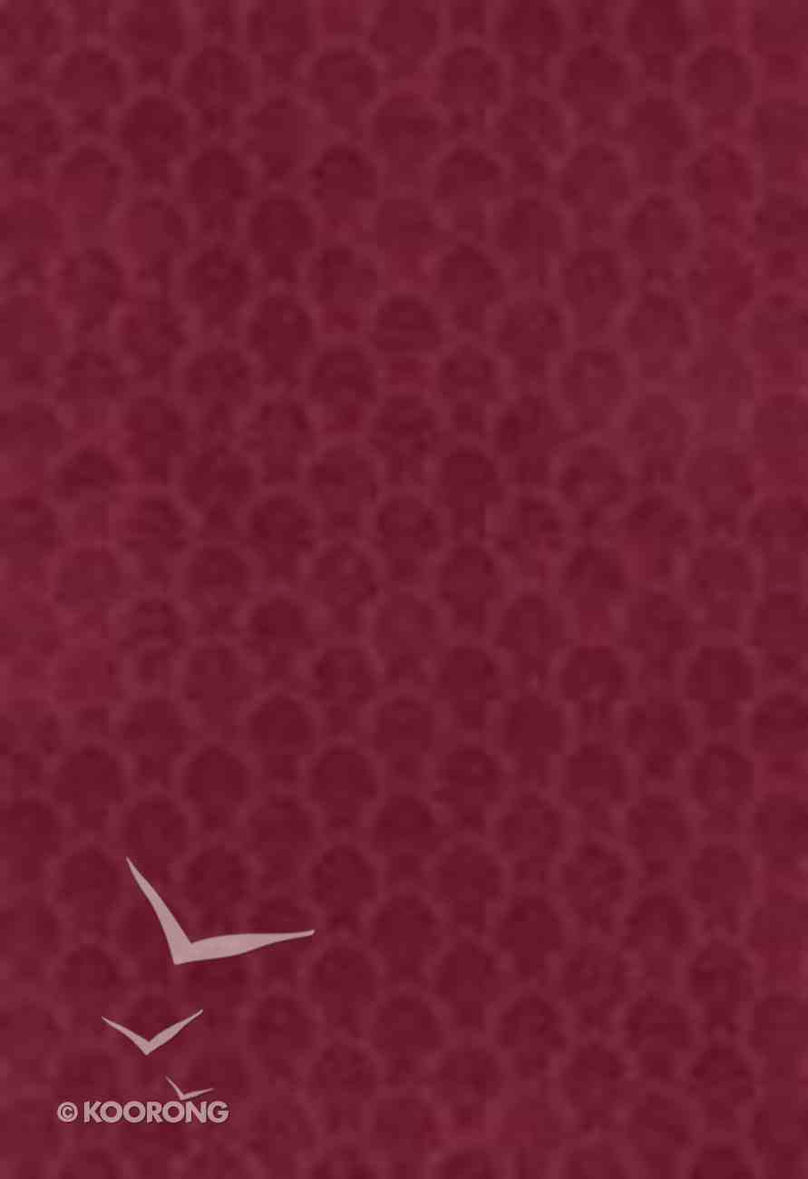 KJV Single Column Bible Cranberry (Black Letter Edition) Imitation Leather