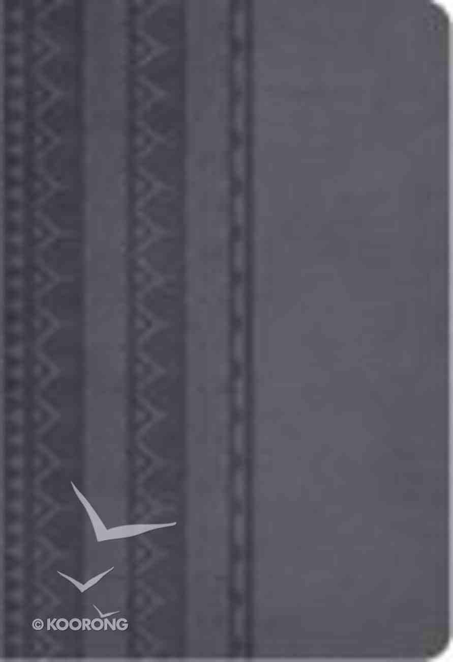 NKJV Personal Size Reference Bible Smoke Imitation Leather
