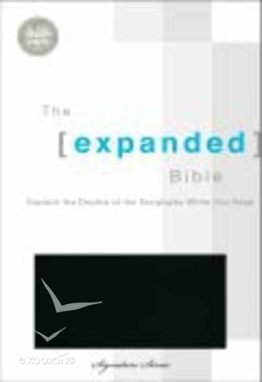 Expanded Bible, the Black Bonded Leather