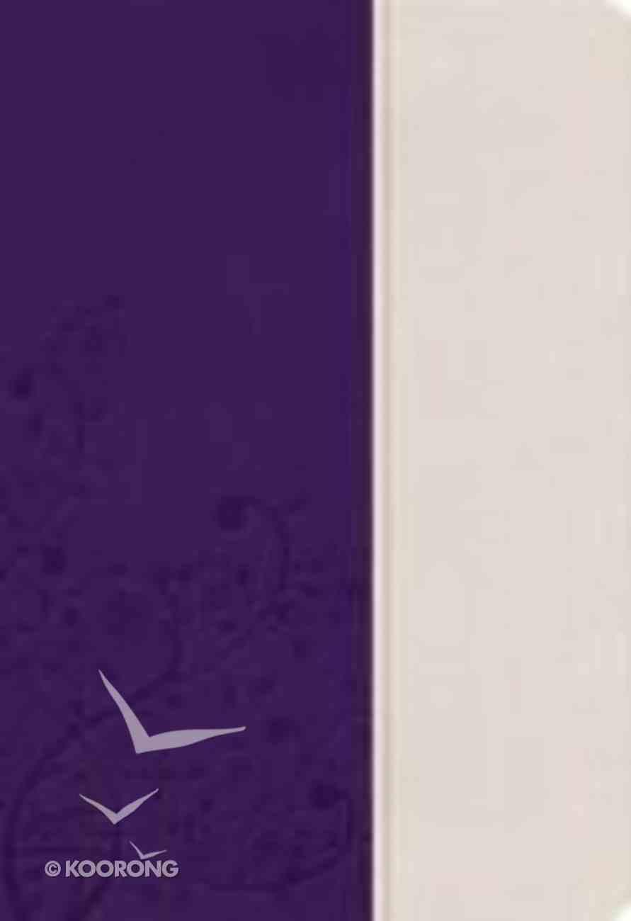 KJV Woman's Study Bible Purple/White Imitation Leather