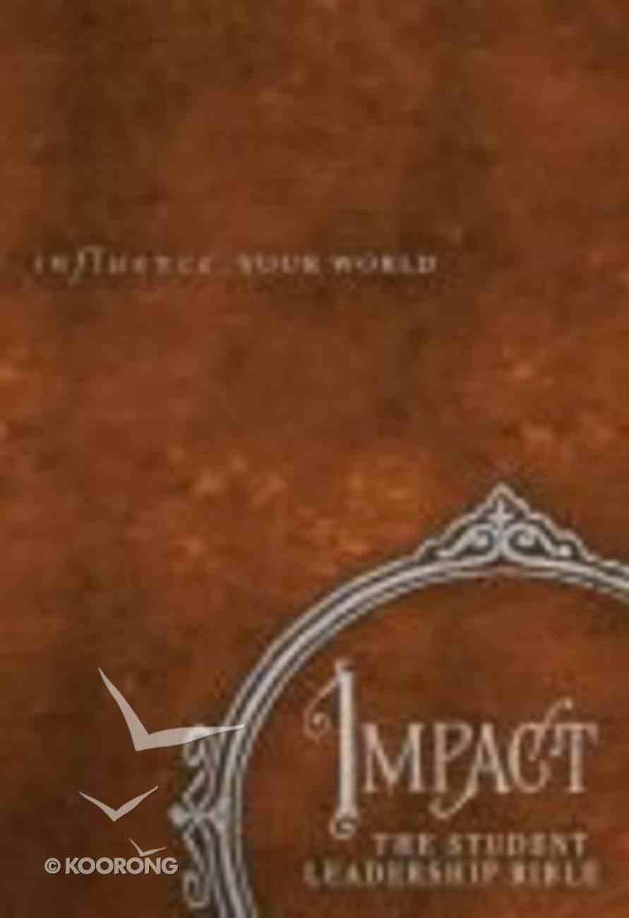 NKJV Impact the Student Leadership Bible Hardback