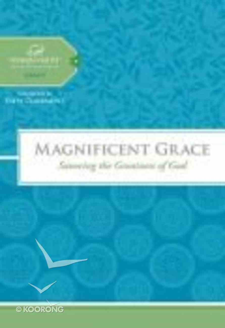 Magnificent Grace (Women Of Faith Study Guide Series) Spiral