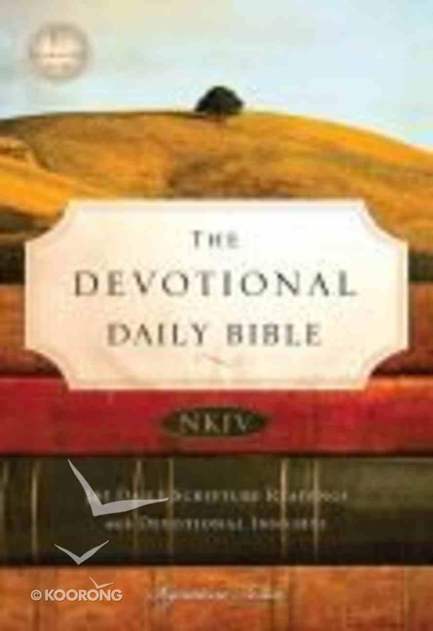 NKJV Devotional Daily Bible Paperback