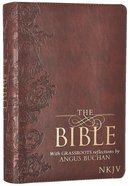 NKJV Bible With Grassroots Reflections By Angus Buchan Burgundy Luxleather Imitation Leather