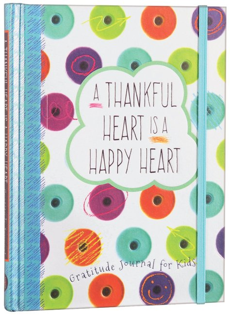 Product: Thankful Heart Is A Happy Heart, A: Gratitude Journal For Kids Image