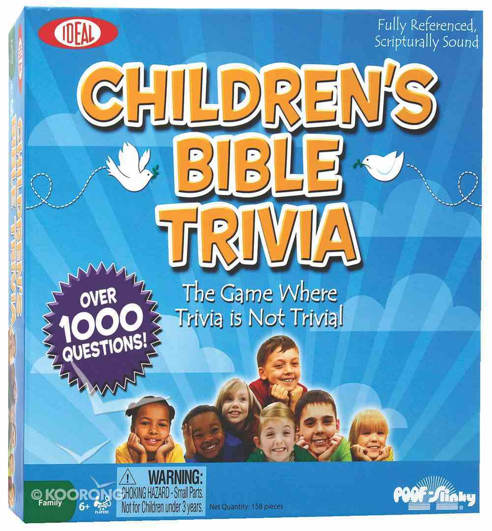 Board Game: Children's Bible Trivia Game