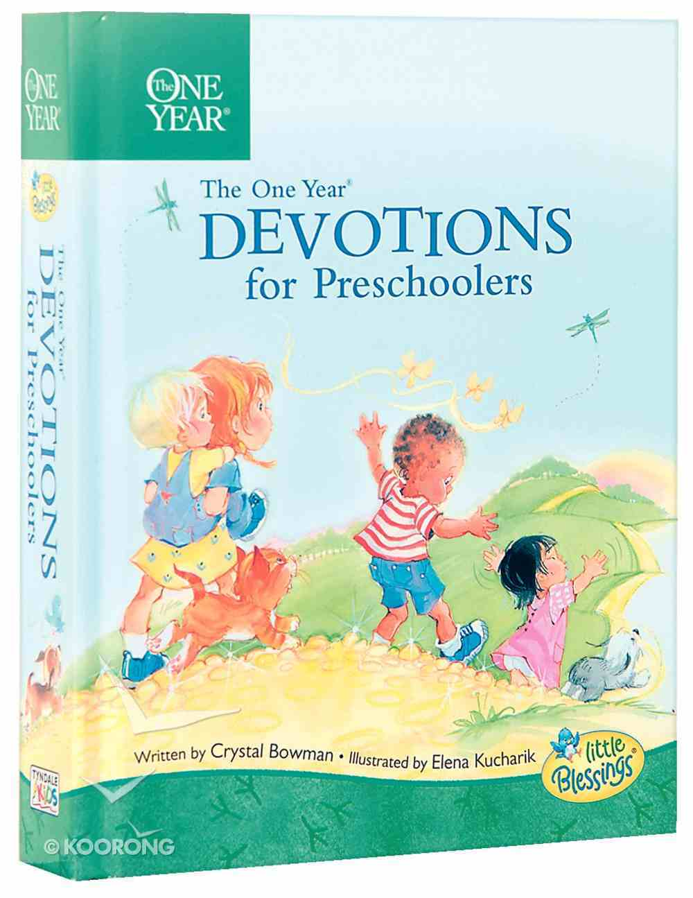 The One Year Book of Devotions For Preschoolers Hardback
