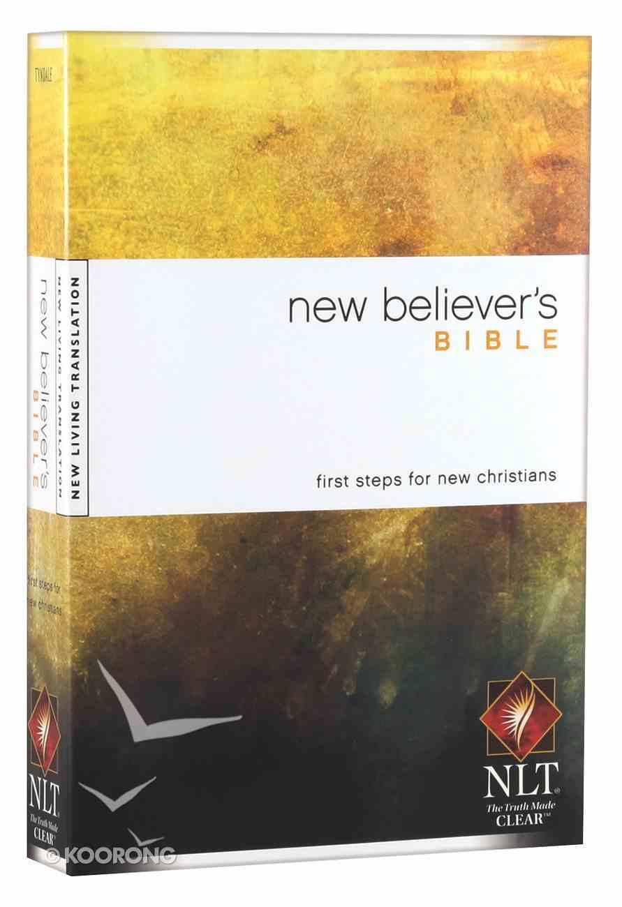 NLT New Believer's Bible (Black Letter Edition) Paperback