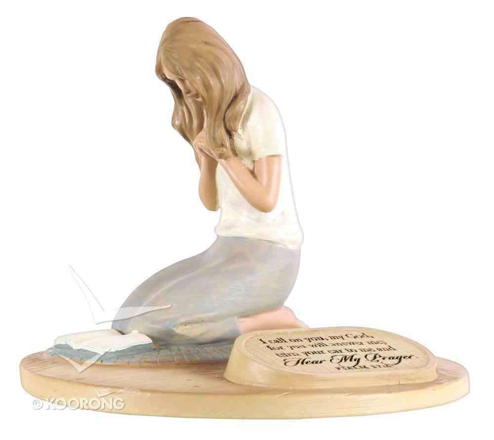 Devoted Sculpture: Praying Woman I Call on You, My God.... (Psalm 17.6) Homeware