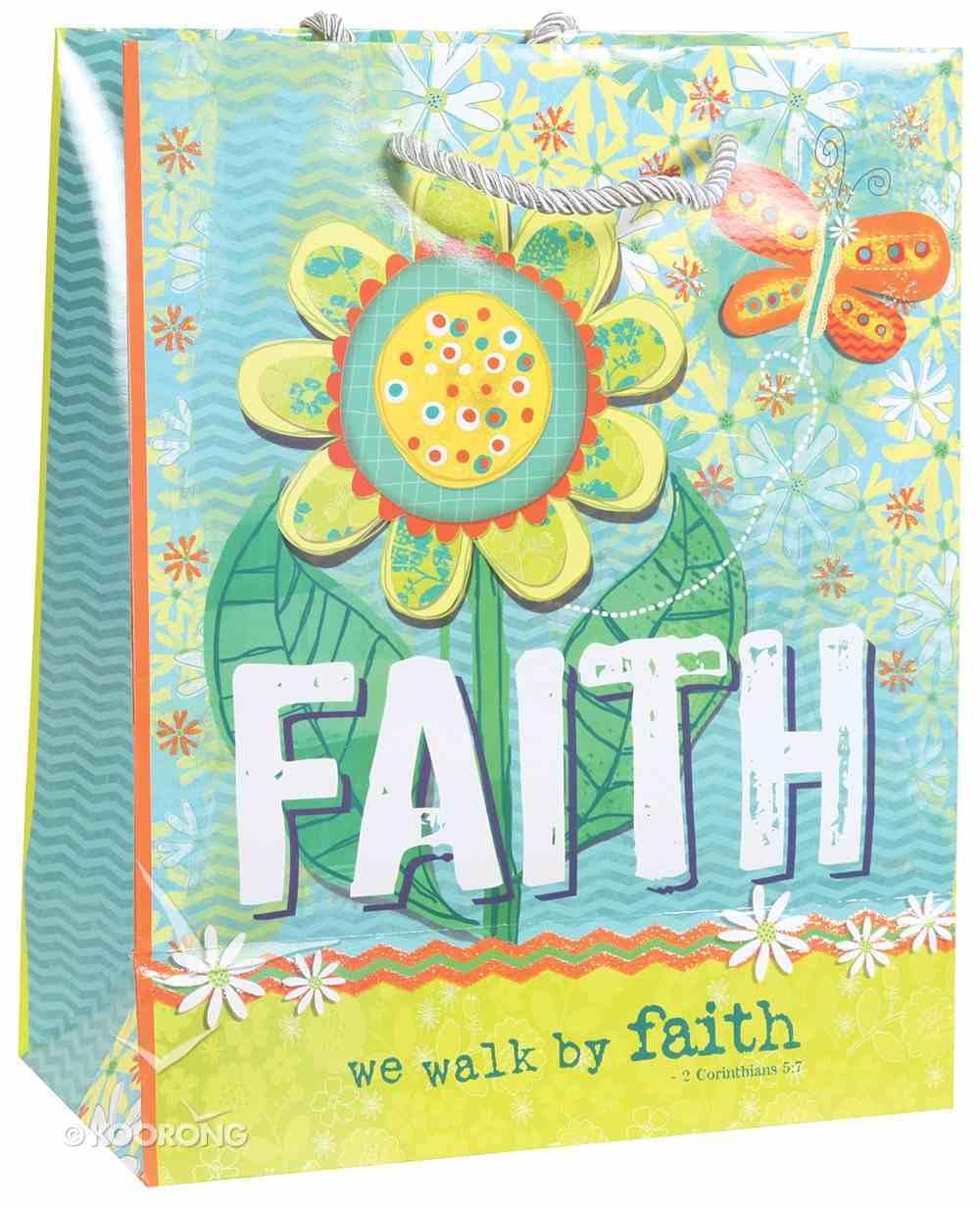Gift Bag Medium: Faith, Matching Tissue Paper Stationery