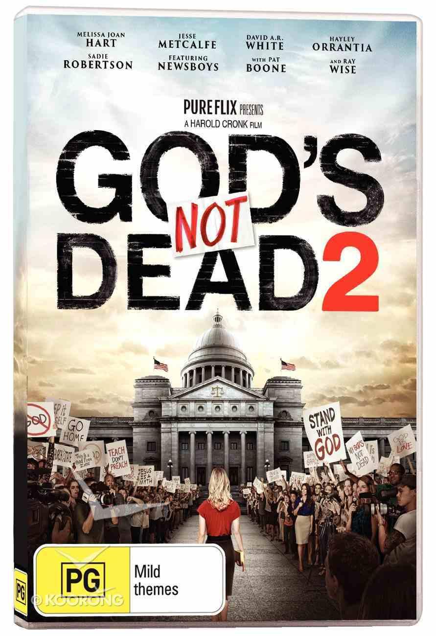 God's Not Dead 2 Movie DVD