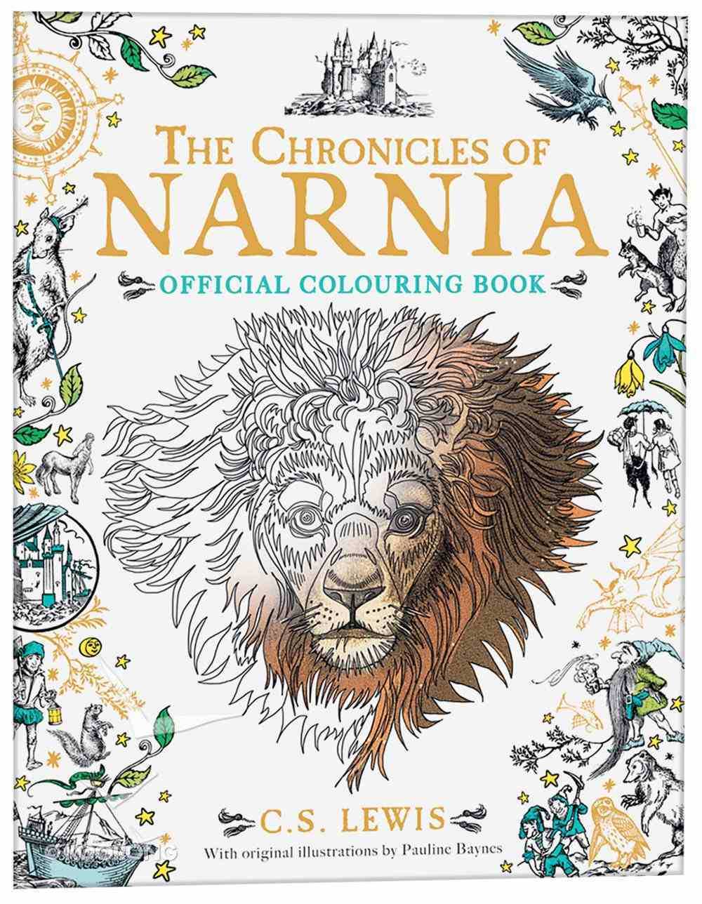 Chronicles of Narnia (Adult Coloring Books Series) Paperback