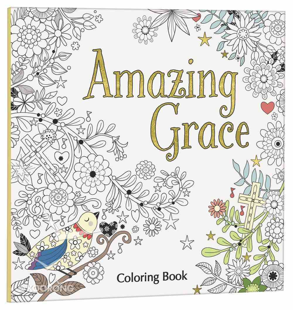 Amazing Grace (Adult Coloring Books Series) Paperback