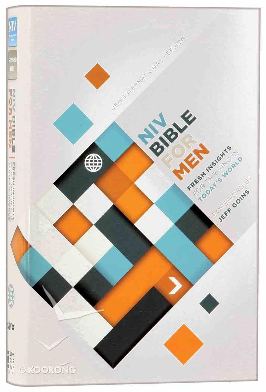 NIV Devotional Bible For Men (Black Letter Edition) Hardback