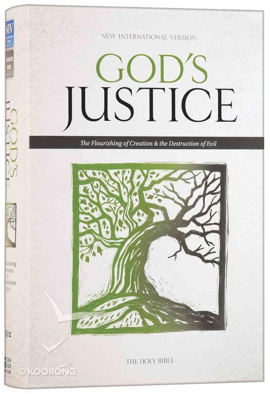 NIV God's Justice Holy Bible (Black Letter Edition) Hardback