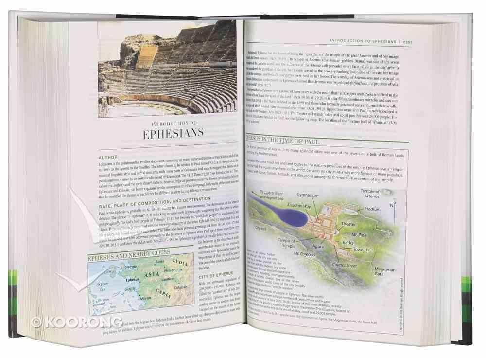 NIV Zondervan Study Bible Full Colour (Black Letter Edition) Hardback