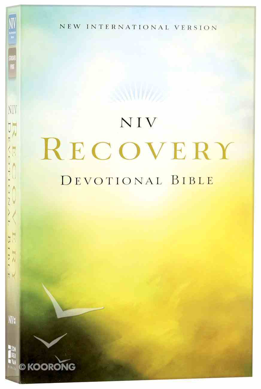 NIV Recovery Devotional Bible (Black Letter Edition) Paperback