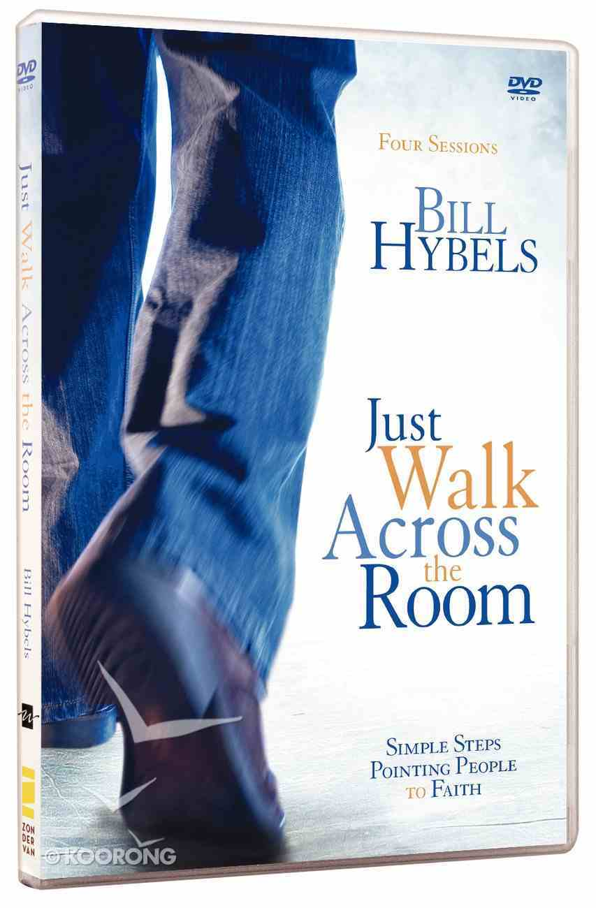 Just Walk Across the Room: Four Sessions on Simple Steps Pointing People to Faith (Dvd Study) Dvd-rom