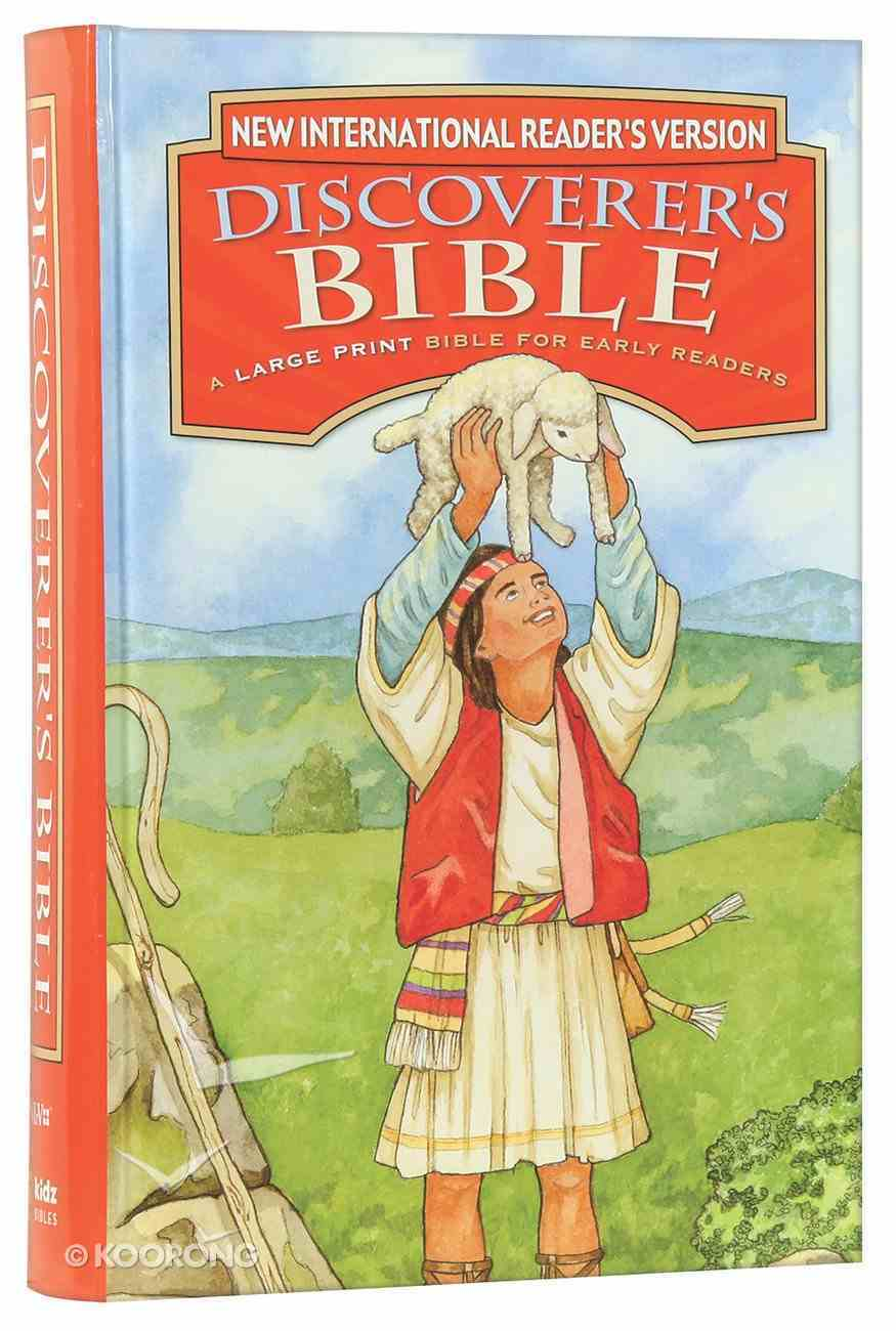 NIRV Discoverer's Bible: A Large Print Bible For Early Readers (Black Letter) Hardback
