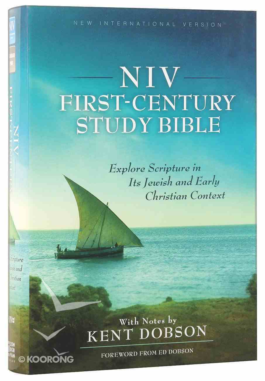 NIV First-Century Study Bible (Black Letter Edition) Hardback
