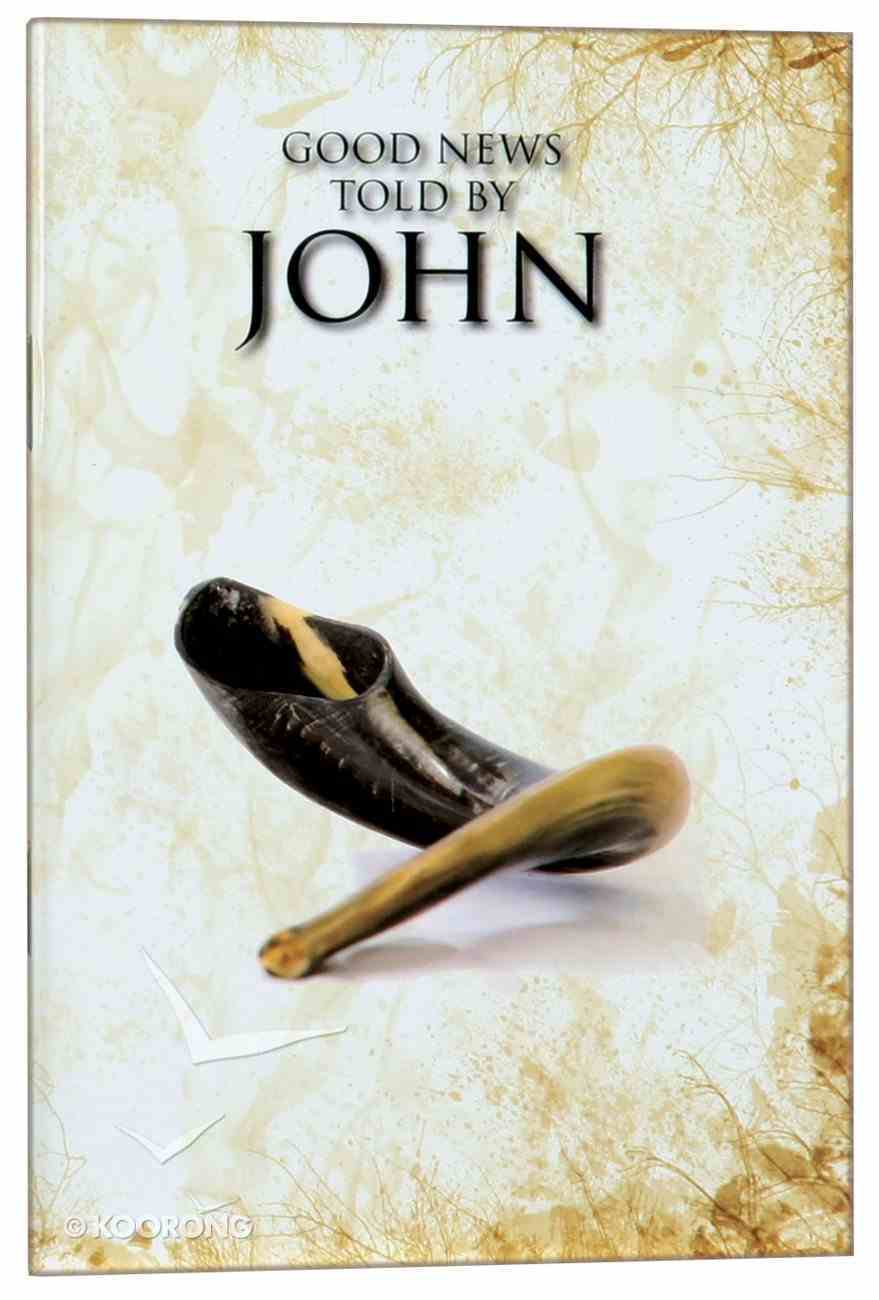 GNB Good News Told By John (Black Letter Edition) Paperback