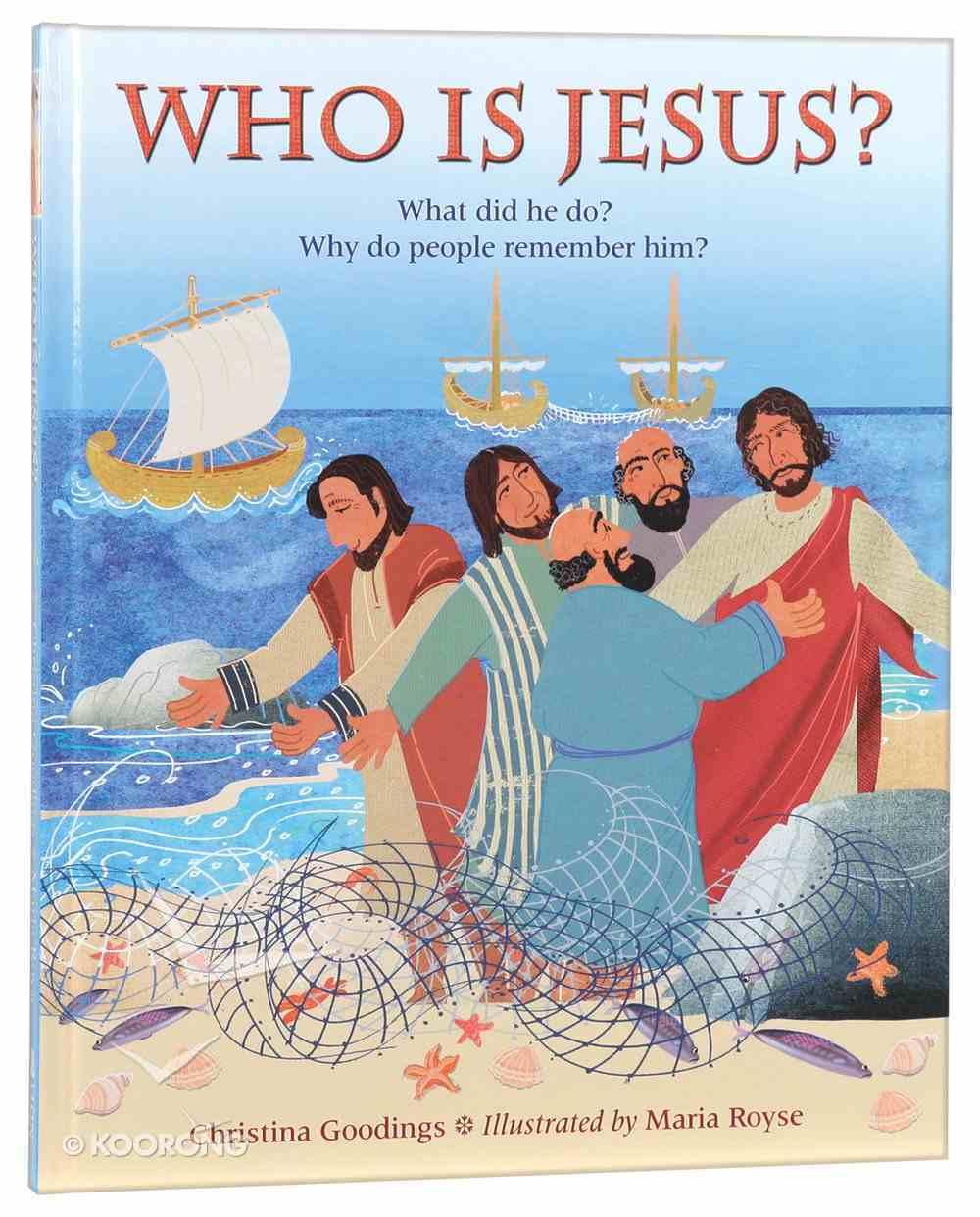 Who is Jesus? Hardback