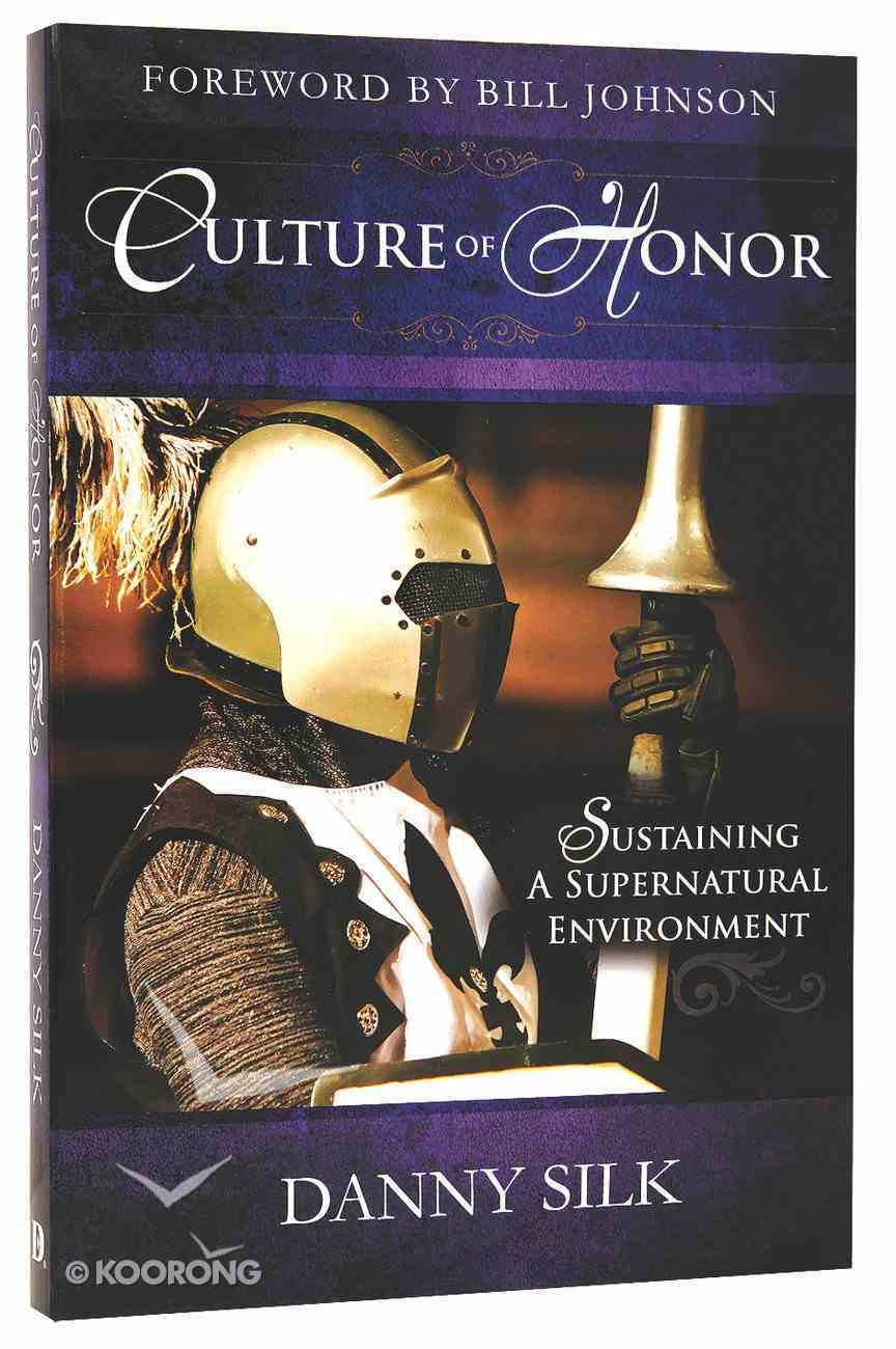 Culture of Honor Paperback