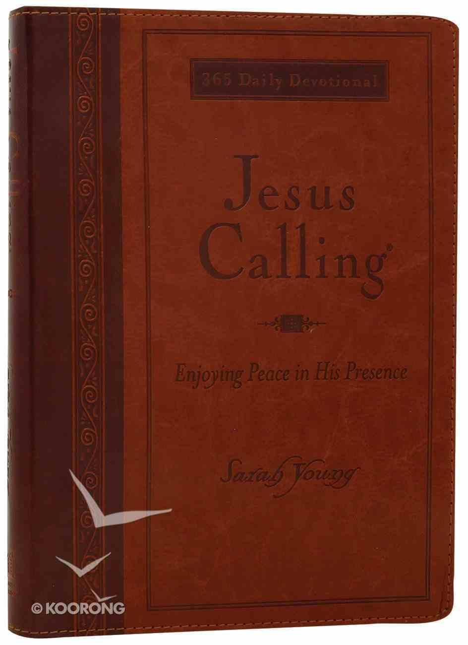 Jesus Calling Large Deluxe Edition Imitation Leather