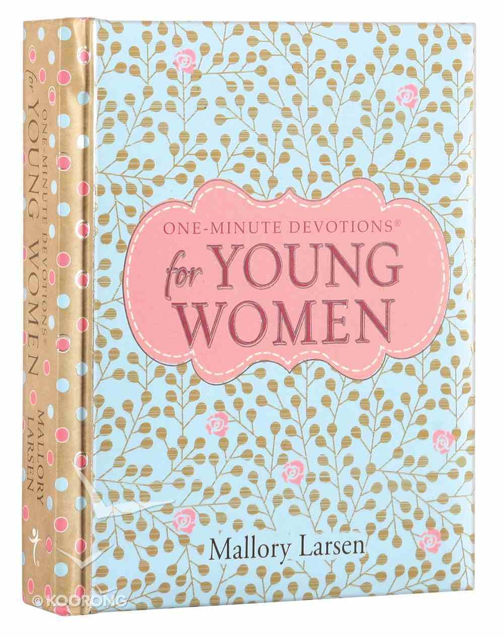 One-Minute Devotions For Young Women Hardback