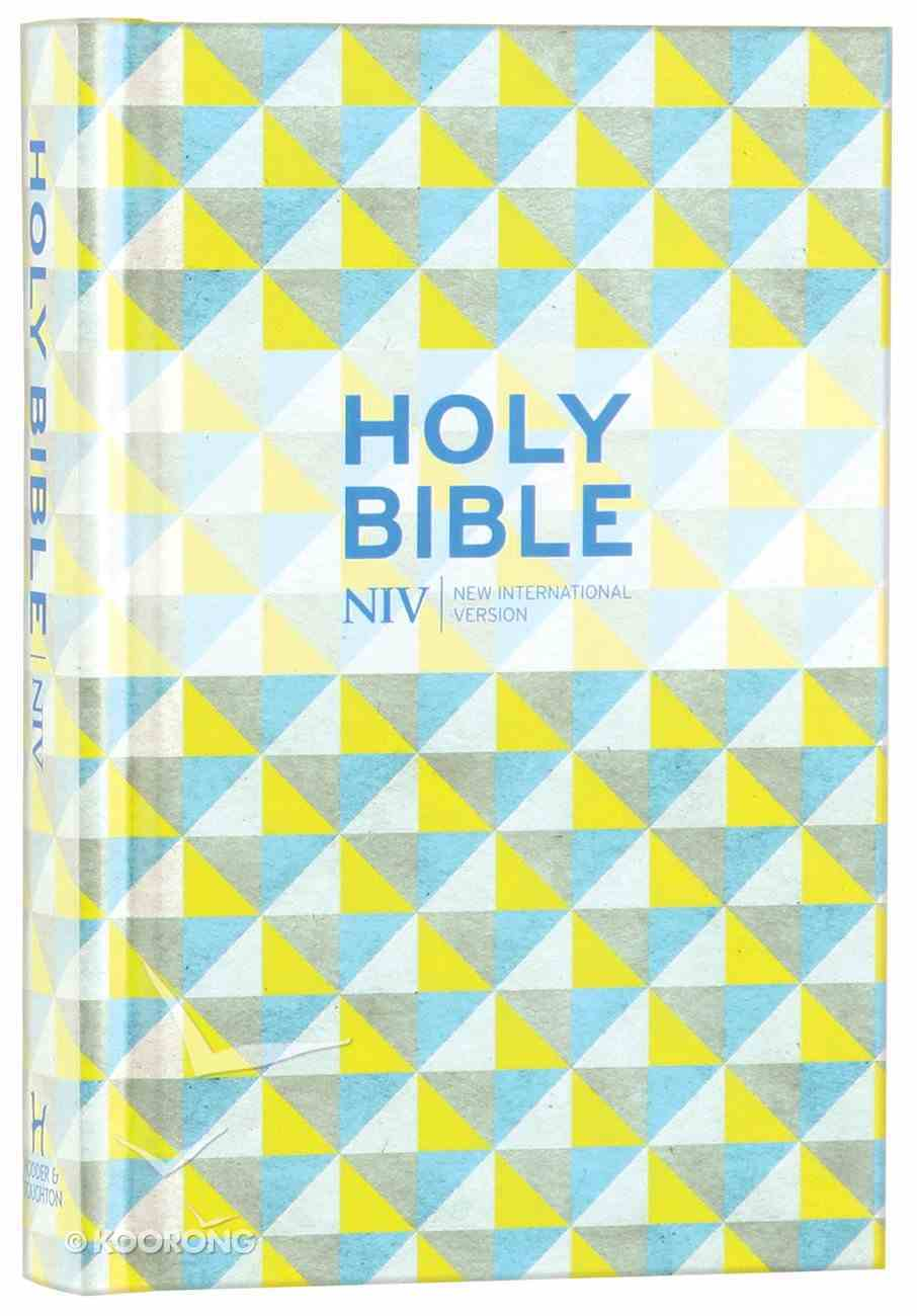 NIV Pocket Design Bible Hardback