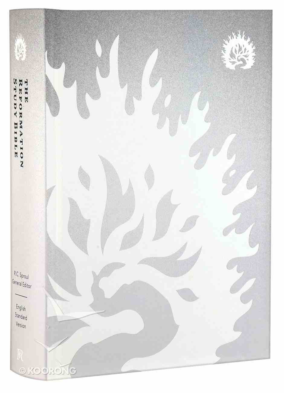 ESV the Reformation Study Bible Silver/White Hardback