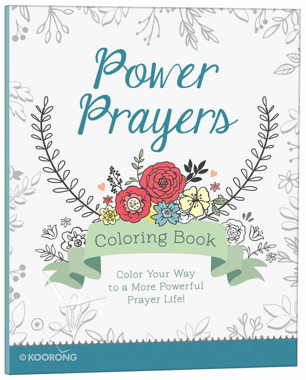 Power Prayers (Adult Coloring Books Series) Paperback