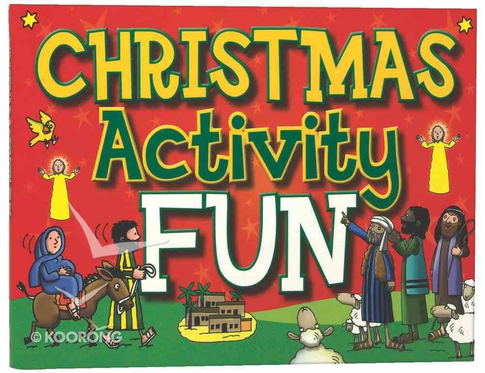Christmas Activity Fun Paperback