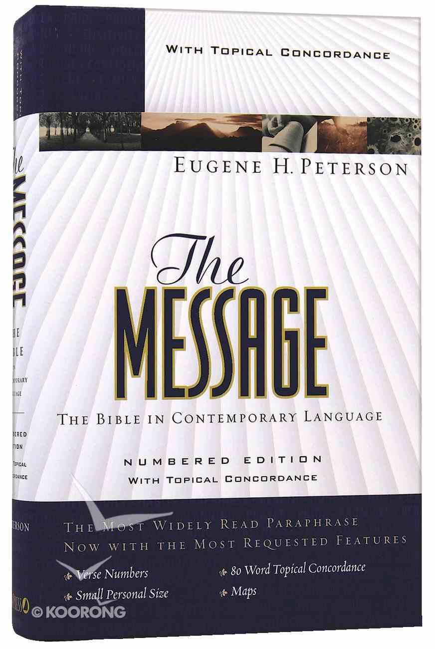 Message Personal Size (Black Letter Edition) Hardback