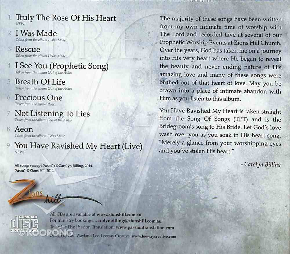 Breath of Life CD