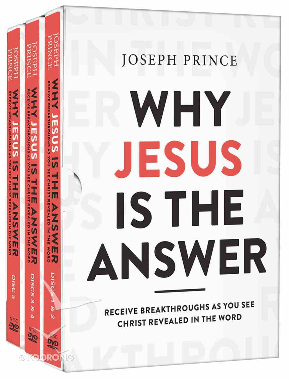 Why Jesus is the Answer (5 Dvds) DVD