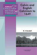 Scht: Calvin And English Calvinism To 1649 image