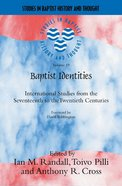 Sbht: Baptist Identities