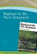 Baptism In The New Testament image