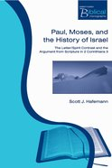 Pbm: Paul, Moses And The History Of Israel