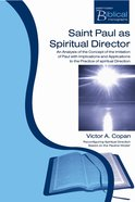 Pbm: Saint Paul As Spiritual Director