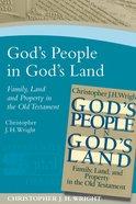 God's People In God's Land image