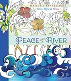 Adult Coloring Journal: Peace Like A River image